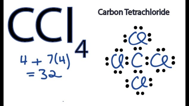 Lewis Dot Structure for CCl4